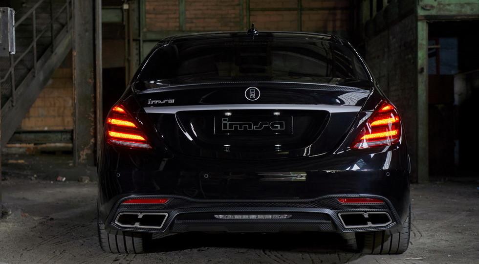 Тюнеры для Mercedes-AMG S63 подготовили «мощный» пакет доработок