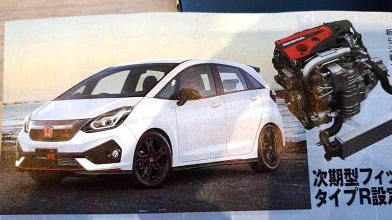Новый Honda Jazz получит спортивную модификацию Jazz Type R
