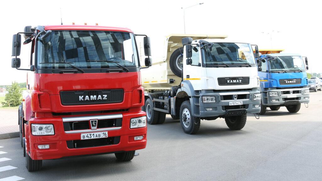 Эксперты назвали ТОП-10 самых распространенных в России грузовиков