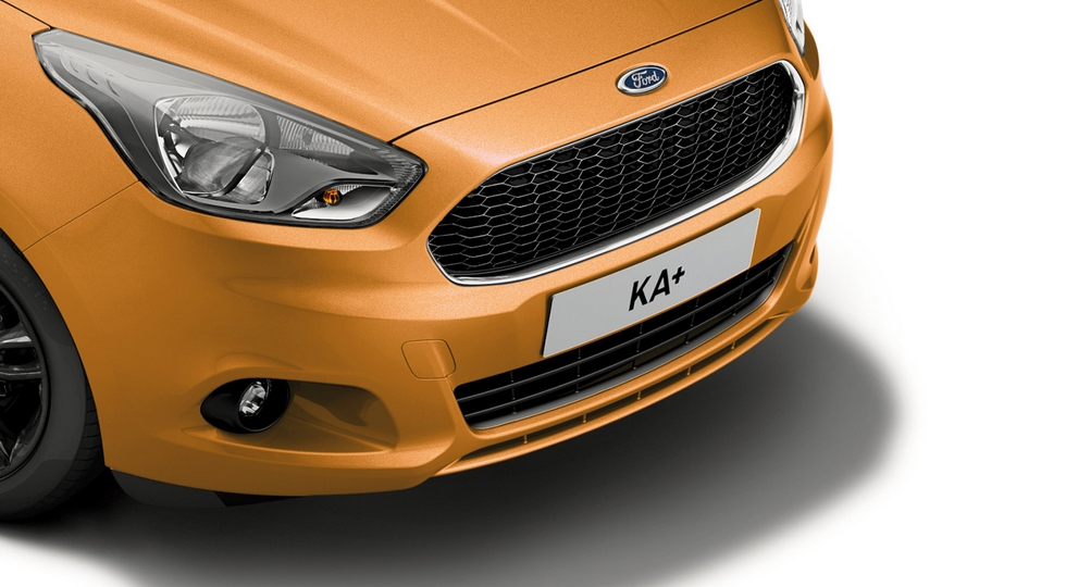 Компактный кроссовер Ford Ka+ получил спецверсию Black Edition