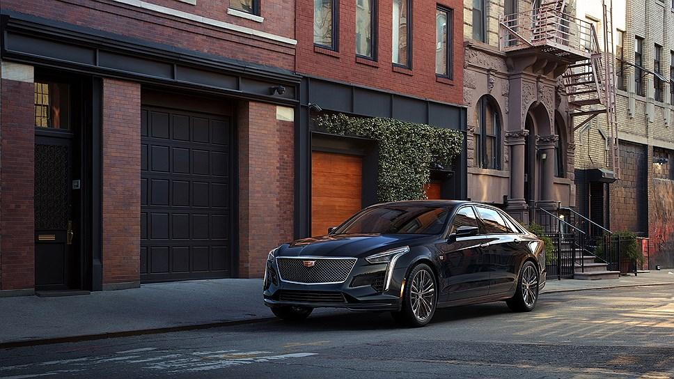 Cadillac выпустит только 275 седанов Cadillac CT6 в версии V-Sport