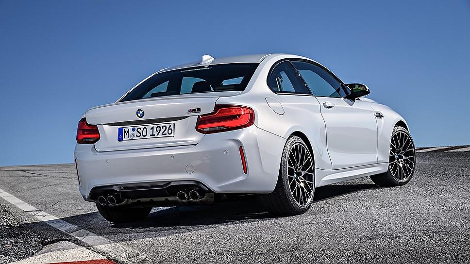 BMW рассекретила 410-сильное купе BMW M2 Competition