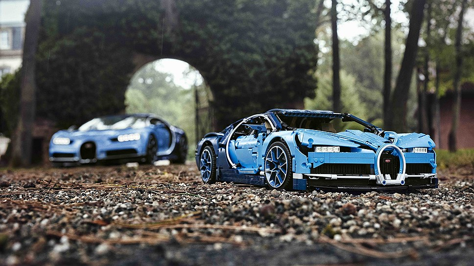 LEGO сделала игрушечный Bugatti Chiron за 350 долларов
