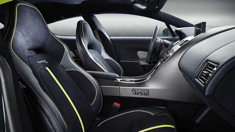Aston Martin представил новый «заряженный» седан Rapide AMR