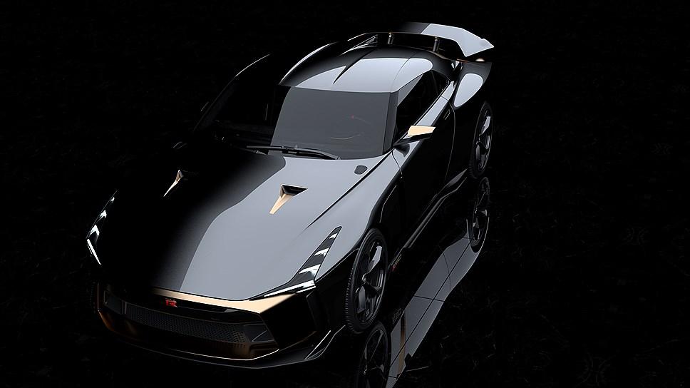Представлено уникальное купе Nissan GT-R50 от ателье Italdesign