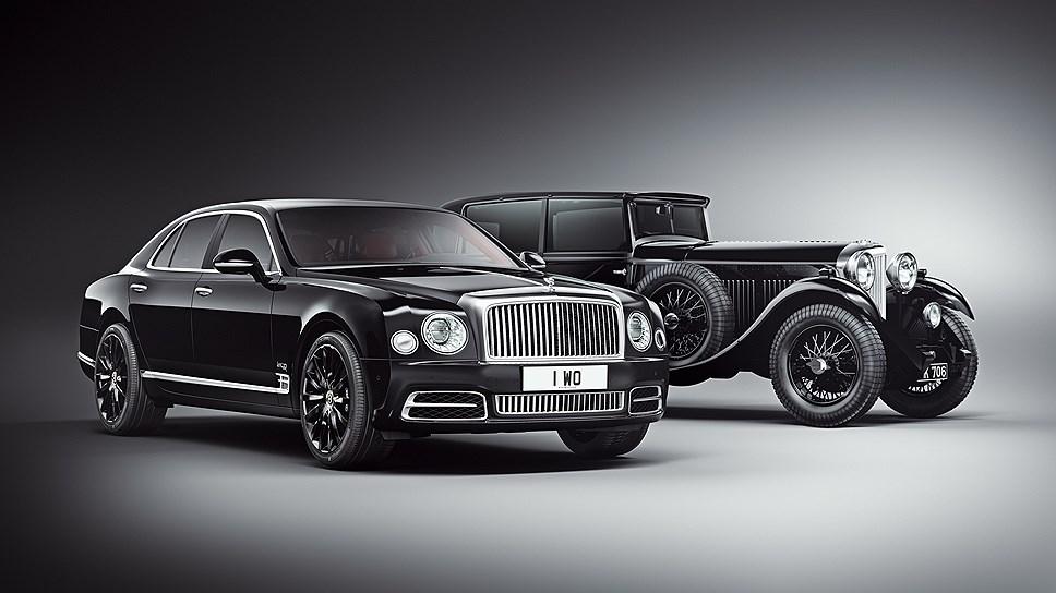 Bentley выпустит серию седанов Mulsanne с деталями от автомобиля 1930 года