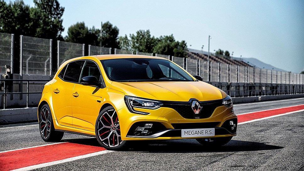 Renault презентовала 300-сильную версию хэтчбека Megane RS Trophy