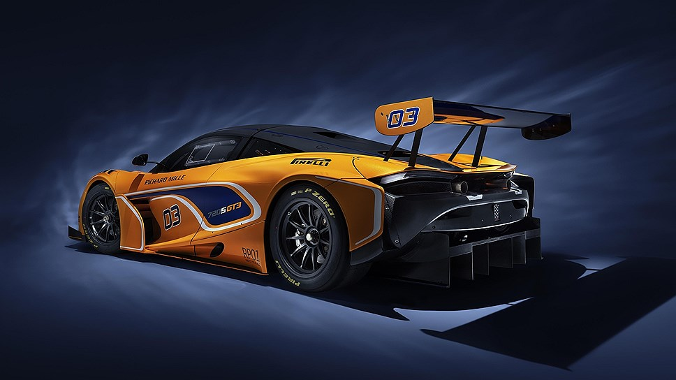McLaren выпустила гоночную версию купе McLaren 720S GT3