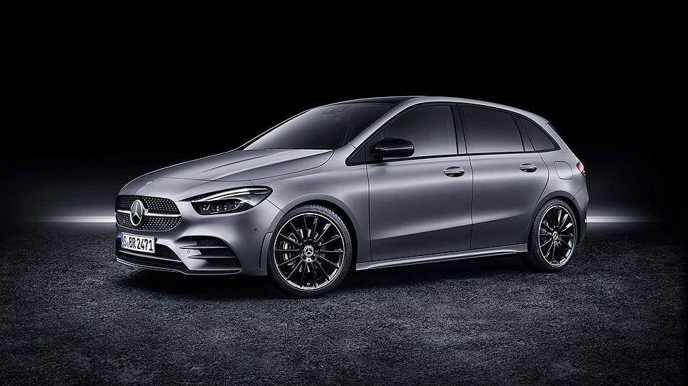 Названы цены на новый Mercedes B-Class для рынка России