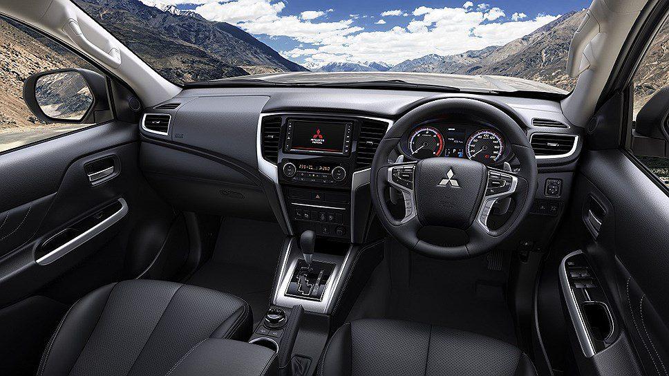 Mitsubishi представил обновленный пикап Mitsubishi L200