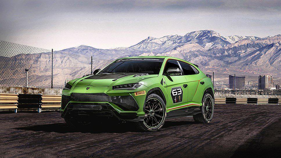 Lamborghini создала концепт Lamborghini Urus ST-X для гоночных треков