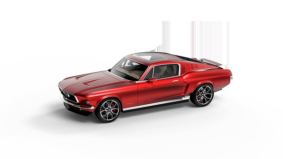 В России разрабатывают электрический спорткар в стиле Ford Mustang