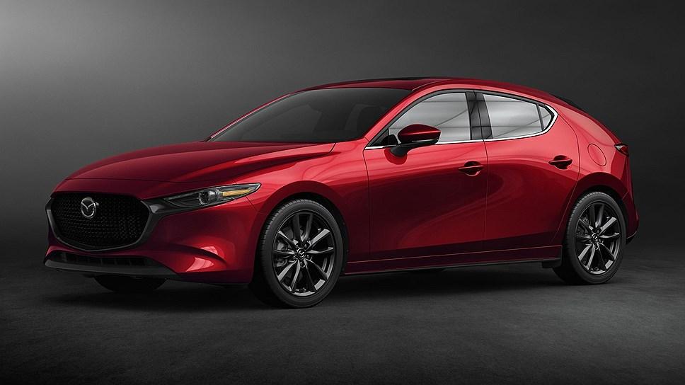 Новый хэтчбек Mazda 3 получит спортивную модификацию