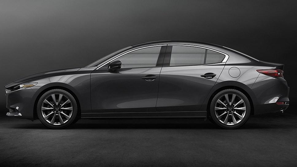 Новое поколение седана Mazda 3 поступит в продажу в РФ в 2019 году