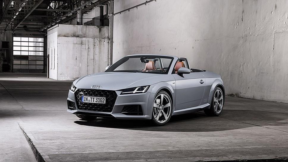 Audi представила новые купе и кабриолет TT