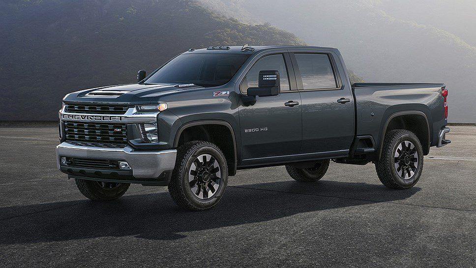 Chevrolet в феврале презентует новый пикап Chevrolet Silverado HD