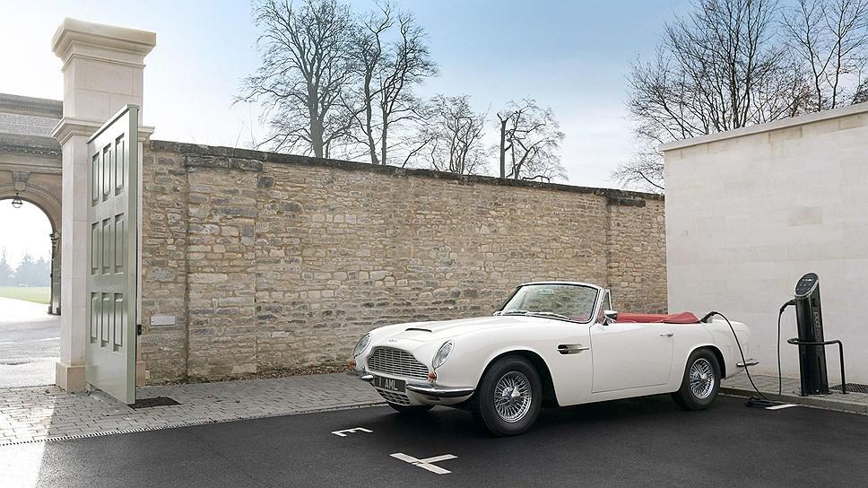 Aston Martin наладит выпуск классических спорткаров с электромотором