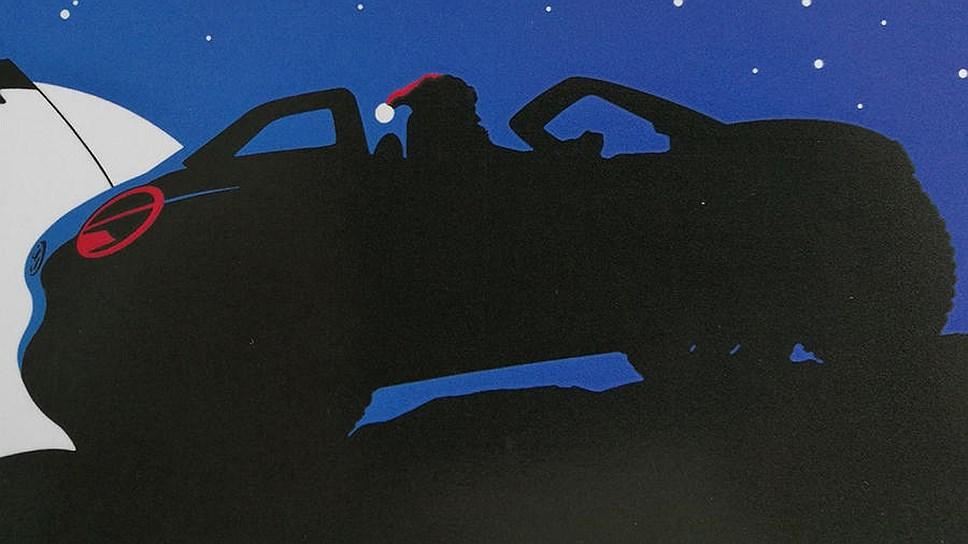 Volkswagen показал электрический багги на рождественской открытке