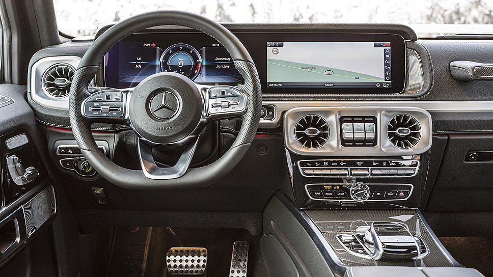 Новый Mercedes G-Class получил дизельный турбомотор