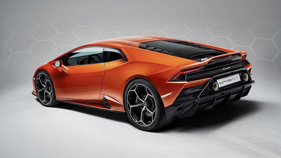 Названа российская стоимость на новый Lamborghini Huracan Evo