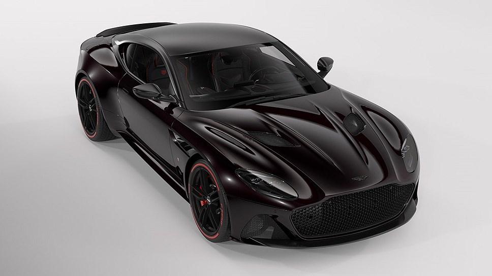 Aston Martin и TAG Heuer создали спецверсию купе DBS Superleggera