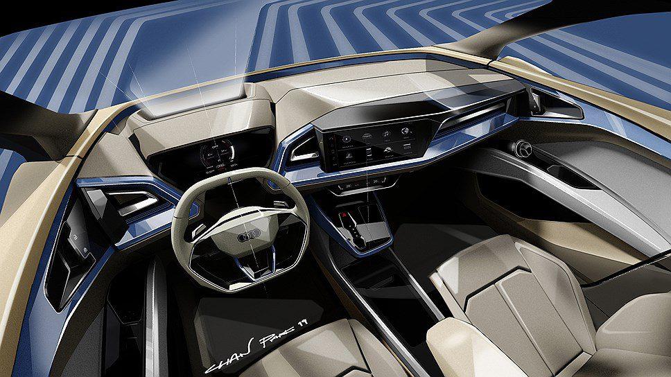 Audi в Женеве покажет новый электрокроссовер Q4 e-Tron