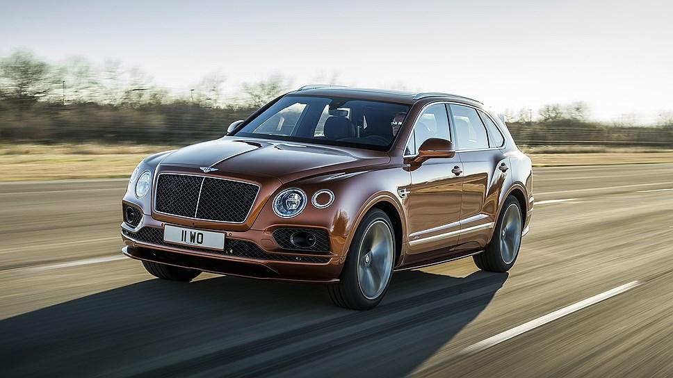 Bentley сообщил о самом быстром в мире внедорожнике (ВИДЕО)