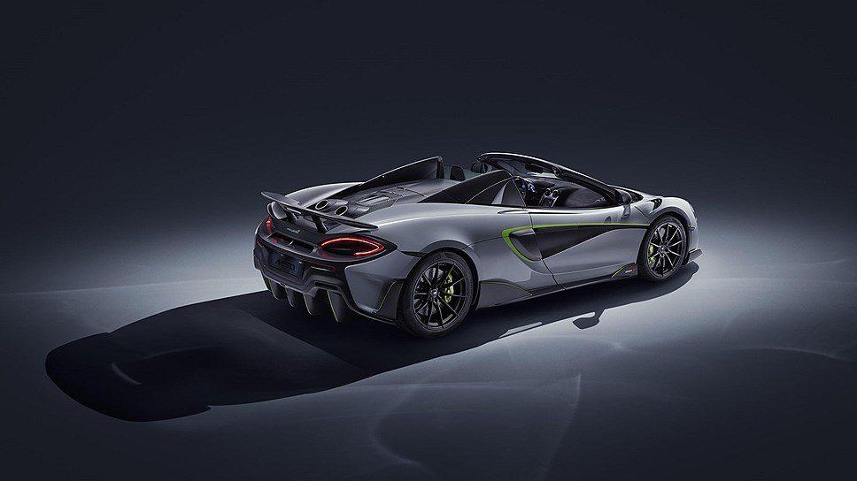 Компания McLaren выпустила особый 600LT Spider