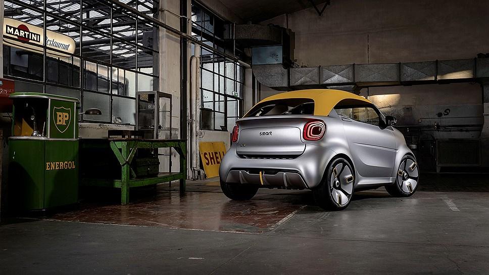 Smart показала концепт городского автомобиля Smart Forease+