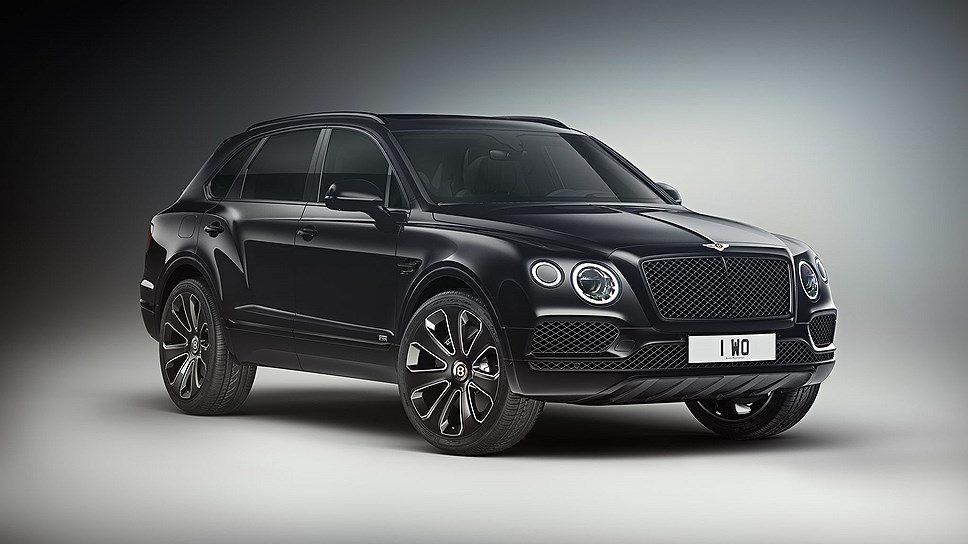Тюнинг-ателье Mulliner показало особую версию Bentley Bentayga V8