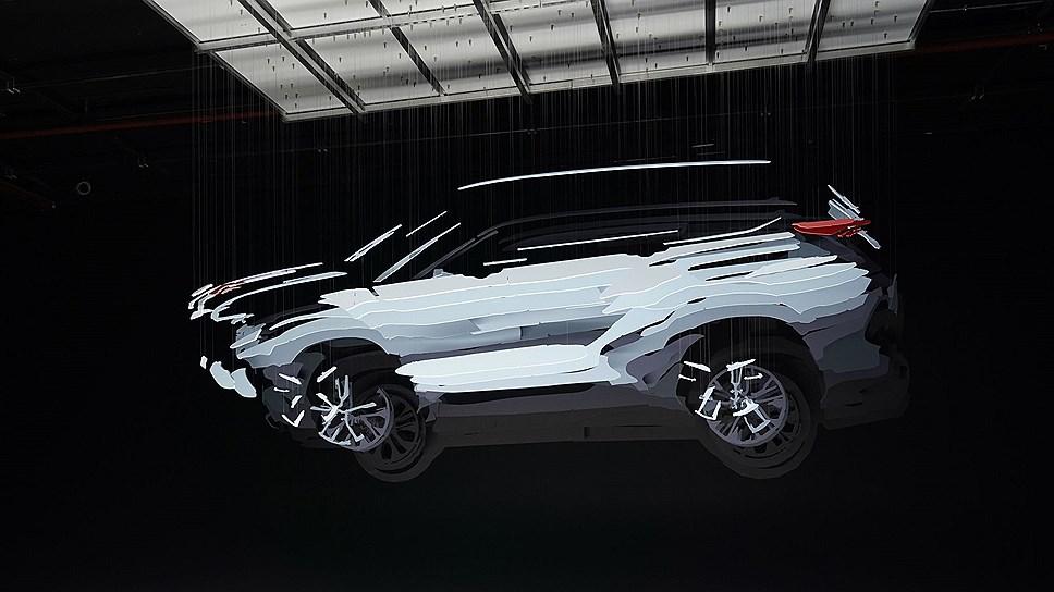 Toyota распространила тизер нового Highlander