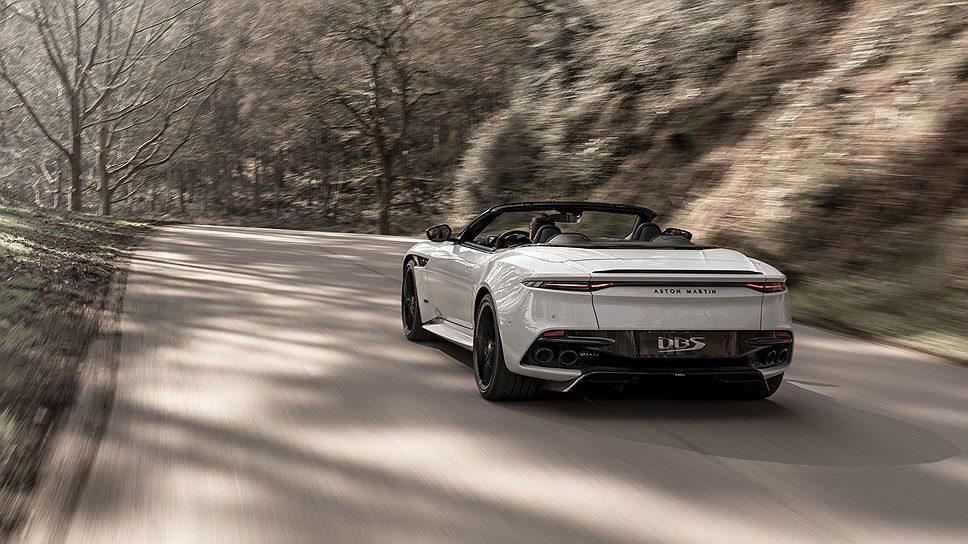 Aston Martin выпустил самый быстрый кабриолет в своей истории