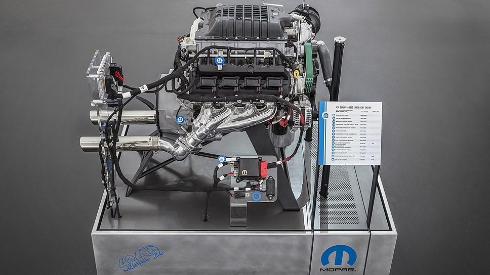 Mopar начали продажи 1000-сильного двигателя почти за $30 тысяч