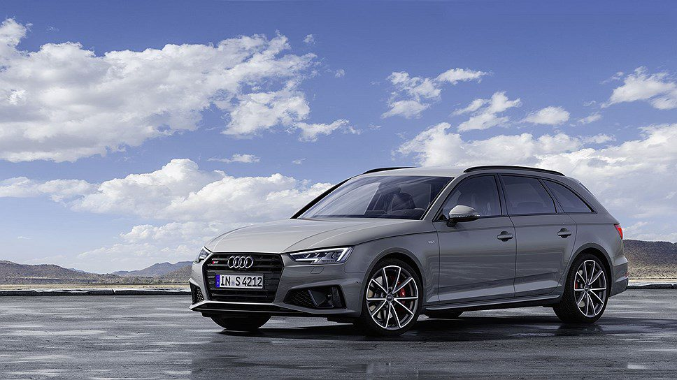 Новое поколение спортивных Audi S4 и S4 Avant оснастили дизелем