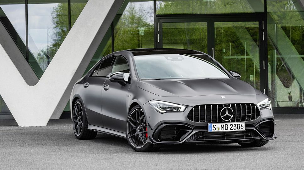 Mercedes представил «заряженные» Mercedes-AMG A45 S и CLA 45 S