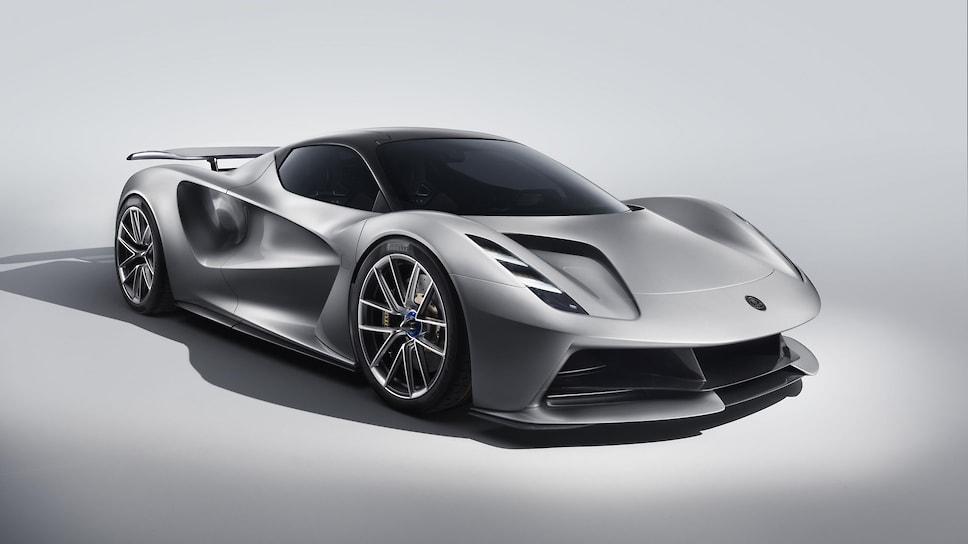 Весь тираж электрического гиперкара Lotus Evija уже распродан