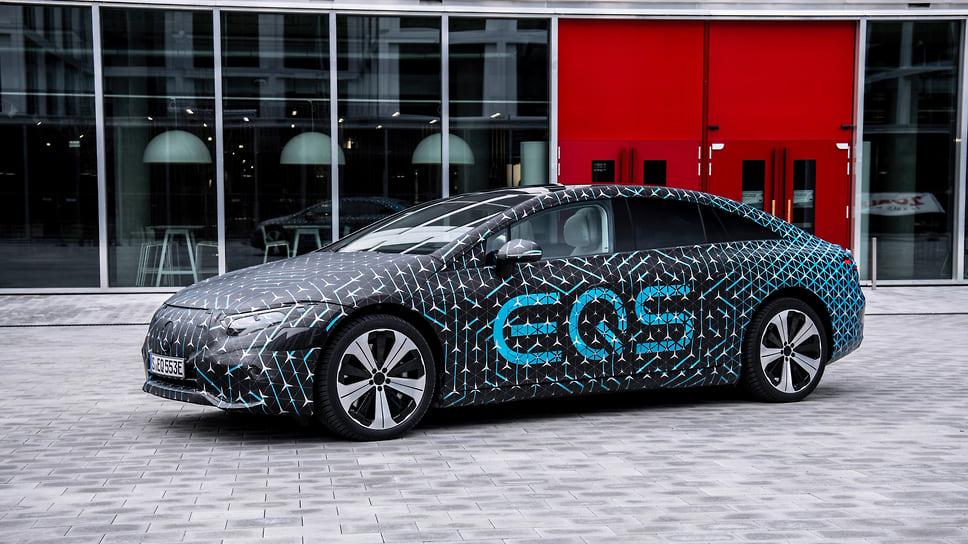 Электрический Mercedes-Benz EQS будет доступен в двух модификациях