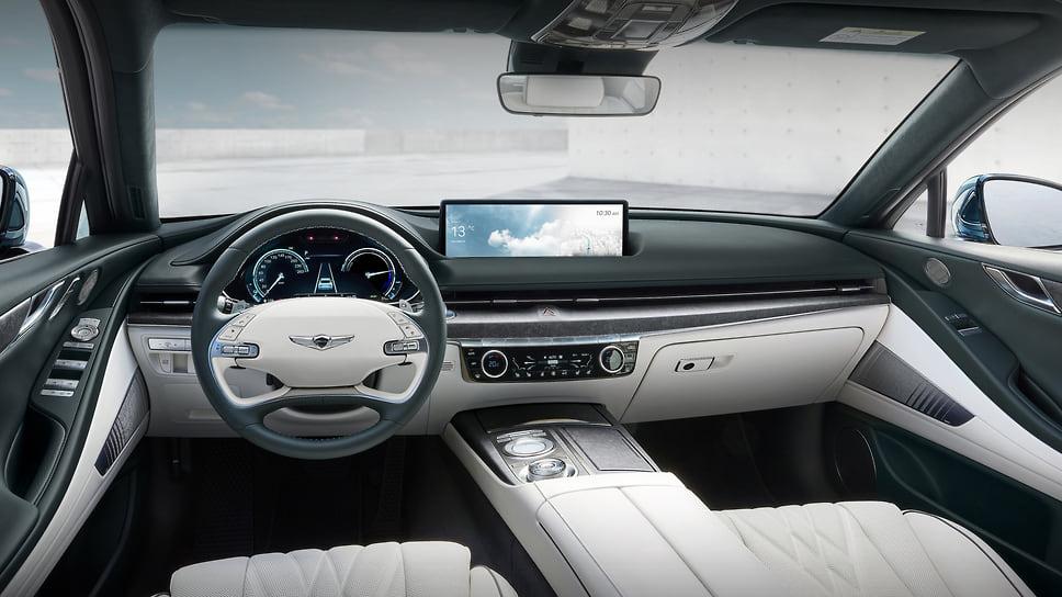 Премиальная марка Genesis представила электрическую версию седана Genesis G80