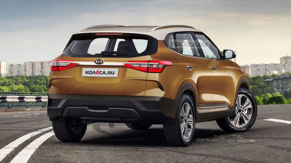 В сети показали первое изображение конкурента Hyundai Creta от KIA