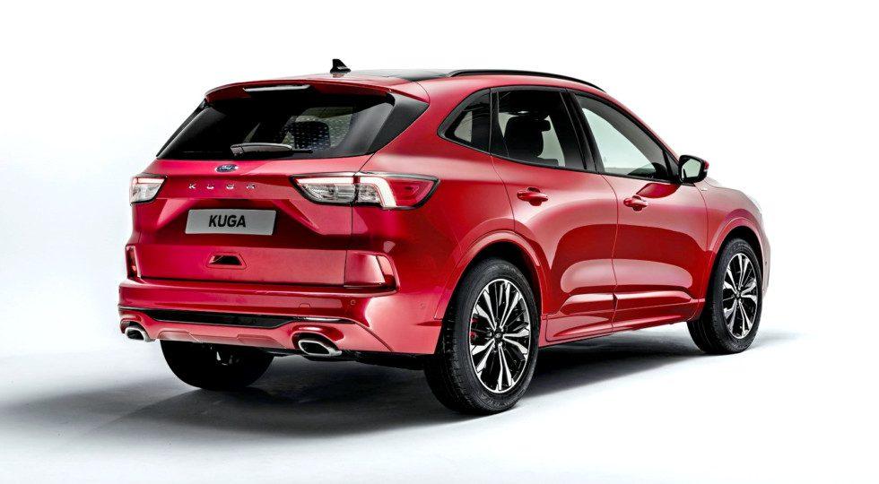 Новый кроссовер Ford Kuga представлен официально