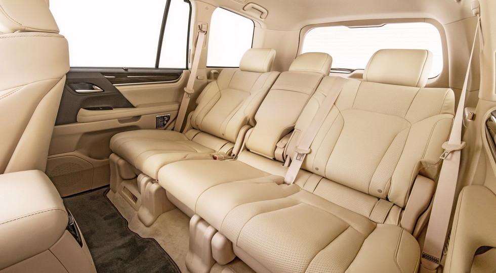 Названы цены на новый пятиместный внедорожник Lexus LX 570
