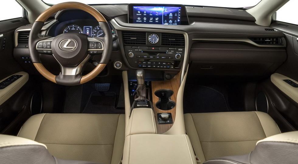 Семиместный кроссовер Lexus RX L представлен официально