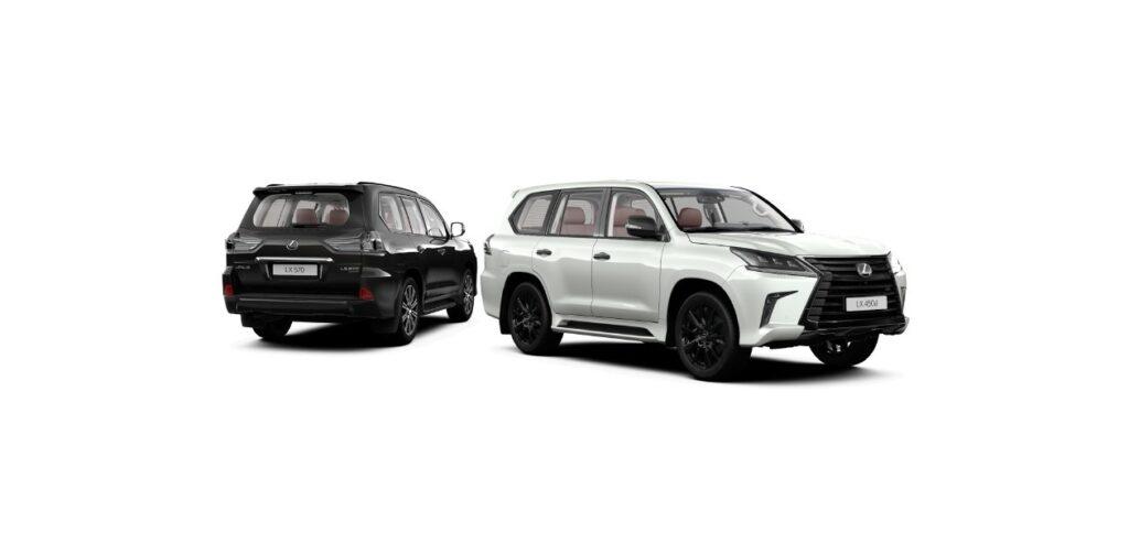 Внедорожник Lexus LX в РФ получил новую спецверсию Black Vision
