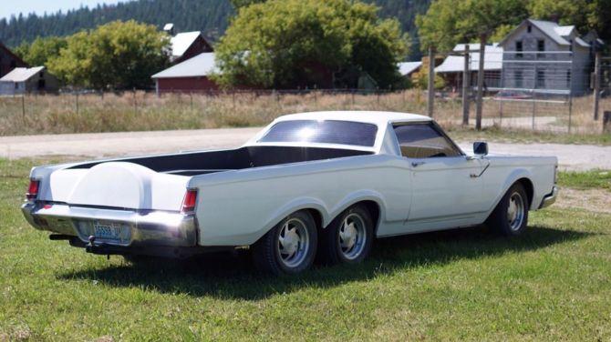 Необычный пикап Lincoln 1971 года выставили на продажу за 8 000 долларов