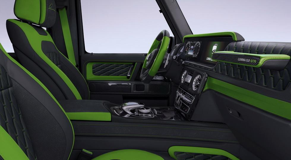 Lumma Design продемонстрировала спецверсию Mercedes-AMG G63
