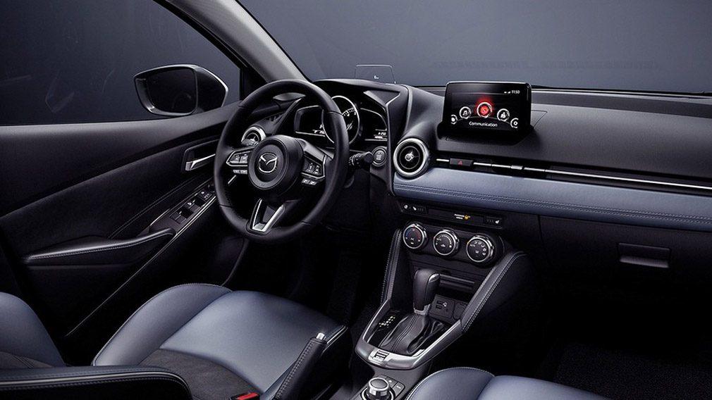 Компания Mazda представила обновленный седан Mazda 2