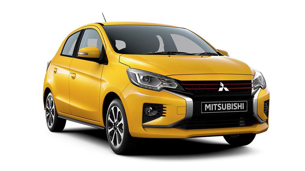 Mitsubishi представил обновленные модели Mirage и Attrage