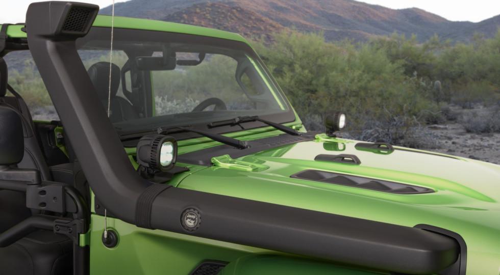 Jeep в Лос-Анджелесе показал эксклюзивный Jeep Wrangler Rubicon 2018