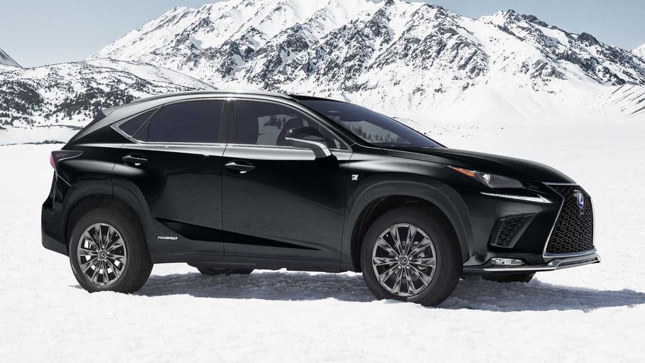 Lexus выпустила «чёрную» спецверсию кроссовера Lexus NX