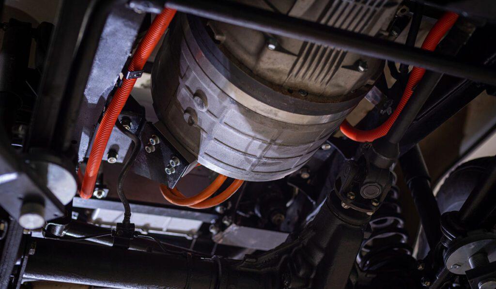 УАЗ «Хантер» получил электромотор в Европе